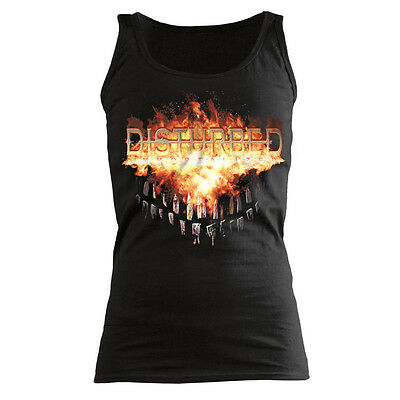 DISTURBED - Fiery Grin - GIRLIE - Shirt