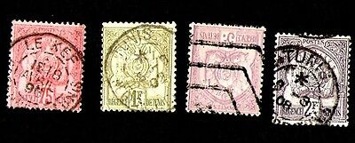 Timbres  Tunisie 1888.1901 Colonie Francaise