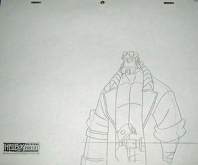 Original Production Drawing from Revolution Studio's Hellboy of HELLBOY A10