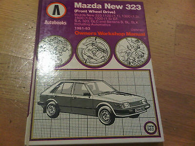 Mazda New 323 1981-1983  Owners Workshop Manual NEW OLD Autobooks
