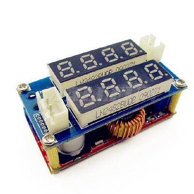 DC-DC Step-down Charge LED Driver Voltmeter Ammeter Module 5A Adjustable Power