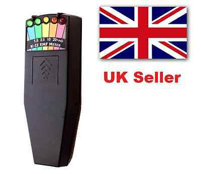 K2 K-II EMF Meter UPDATED BLACK EDITION - Paranormal Research Ghost Detector