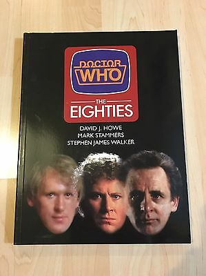 Doctor Who The Eighties PB Book Rare