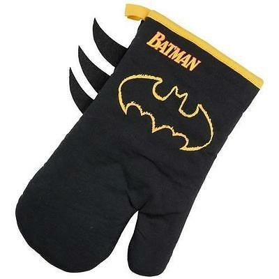 Batman - Flame Logo Oven Glove / Mitt - New & Official DC Comics With Tag