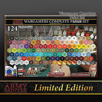 Army Painter - Complete Wargamer Paint Set (LIMITED)