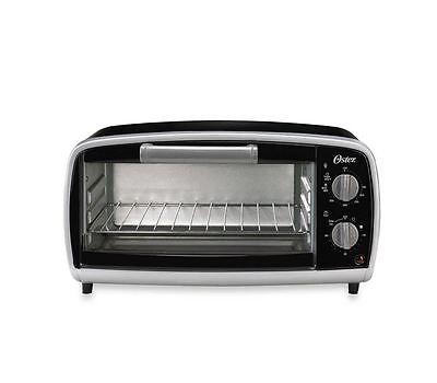 Oster 4-Slice Toaster Oven - Bake, Broil, Toast, Defrost , Countertop