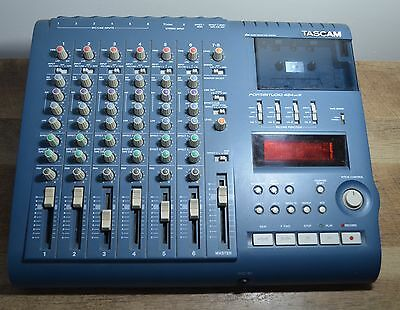 Tascam Portastudio 424 MKIII Tested Working with Power Supply and Manual