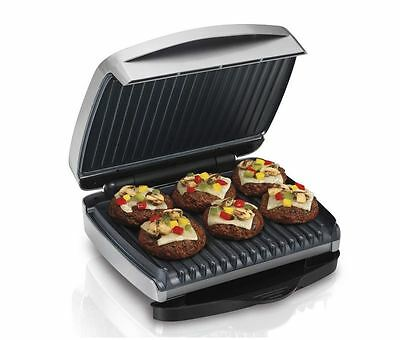 Hamilton Beach Indoor Electric Grill, Stainless Steel