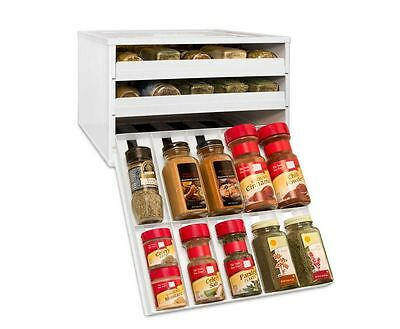 YouCopia Chef's Edition Spice Rack 30-Bottle, Stackable Organizer