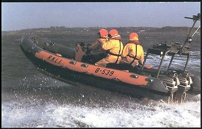 Postcard - An Atlantic 21 Class Lifeboat Photo David Parker Unposted