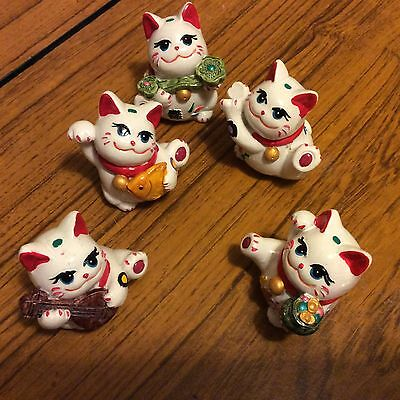 Vintage japanese lucky cat