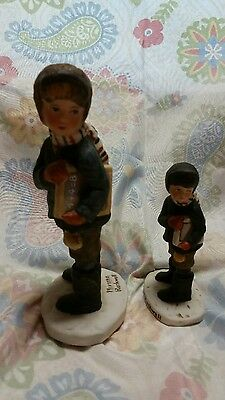 Norman Rockwell Back To School Set Of 2 Figurines