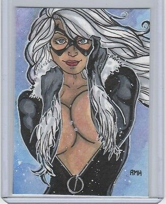 Marvel PSC ACEO Sketch Cards by Rich Hennemann.  Lot of 12 spiderman sketches