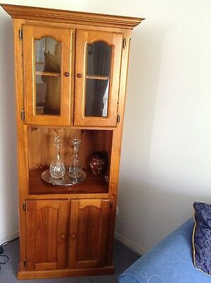 Beautiful Solid Timber Display Cabinet