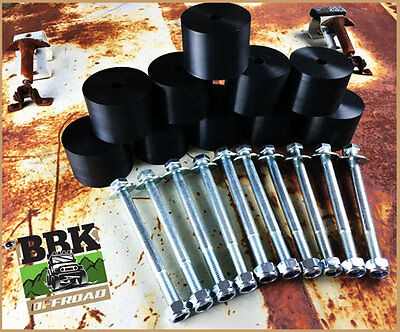 """TOYOTA HILUX 25mm 1"""" inch BODY LIFT KIT ( CAB ONLY) 1997-2004 DUAL / EXTRA CAB"""