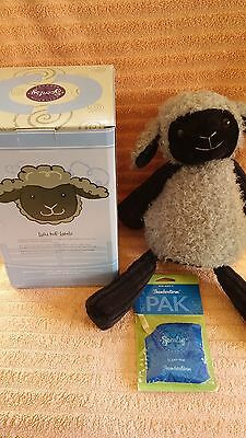 Scentsy Lulu the Lamb Buddy NIB Retired with Scent Pak Hard to Find