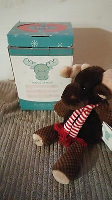 Scentsy Magnus the Moose NIB Retired with Scent Pak Hard to Find