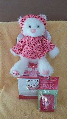Scentsy Lovey the Bear Buddy NIB Retired with Scent Pak