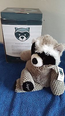 Scentsy Rowan the Raccoon Buddy NIB Retired with Scent Pak Hard to Find