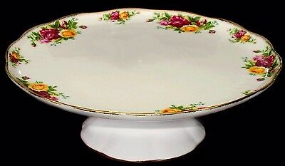 Royal Albert ~ Old Country Roses ~ Large Footed Cake / Gateaux Stand ~ NEW