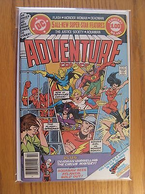 ADVENTURE COMICS #461 NM- 9.0 Justice Society begins DC Giant (1979)