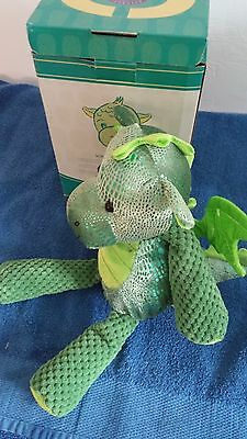 Scentsy Scout the Dragon Buddy NIB Retired with Scent Pak Hard to Find