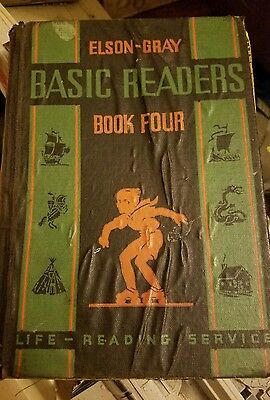 Elson-Gray   Basic   Readers  Book   FOUR  -School  Book-copy. 1936