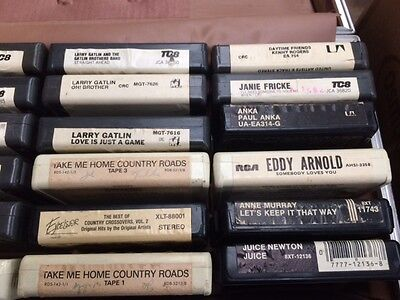 8 track tapes assorted various artists