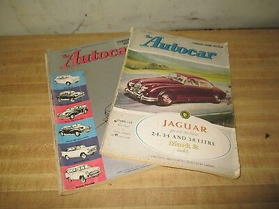The Autocar October 1959 2 Weekly Editions Show Report Show Review English