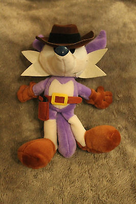 SUPER RARE SEGA Sonic The Hedgehog Fighters UFO Plush Figure - Fang the Sniper