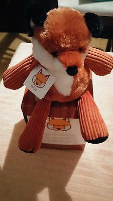 Scentsy Fern the Fox Buddy NIB Retired with Scent Pak Hard to Find