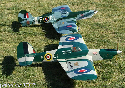 """Model Airplane Plans (UC): Veco HURRICANE 54""""ws Stunt for .35-.46 by Bob Palmer"""