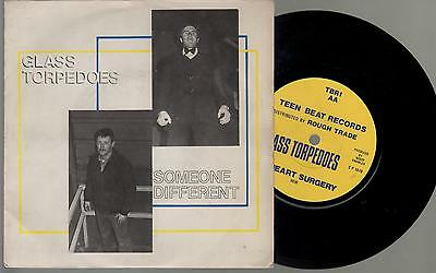 """GLASS TORPEDOES  -  Someone Different,  ORIGINAL 1979 UK PIC SLEEVE 7"""" TEEN BEAT"""