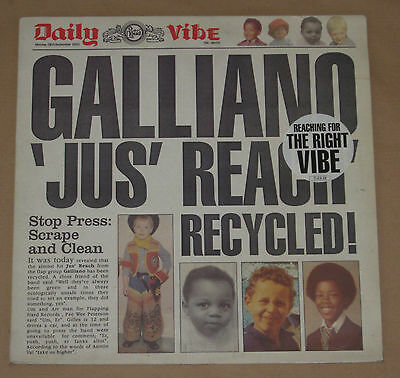 "Galliano 12"" Jus' Reach 1992 Very Good Talkin' Loud Tlkx29"