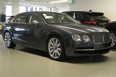 2014 Bentley Flying Spur Sedan in Thunder with 37,194 miles 2014 BENTLEY FLYING SPUR SEDAN IN THUNDER WITH LINEN INTERIOR