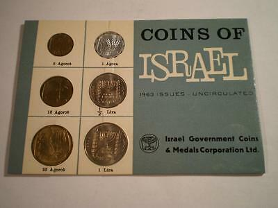 (A16) Israel 1963 Uncirculated 6 Coin Set