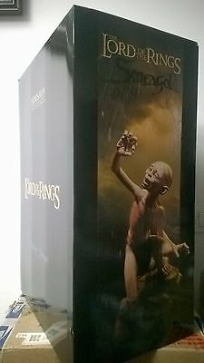 PREMIUM FORMAT GOLLUM SIDESHOW LIMIT. EDIT # 270 / 1000 # LOTR Lord Of The Rings