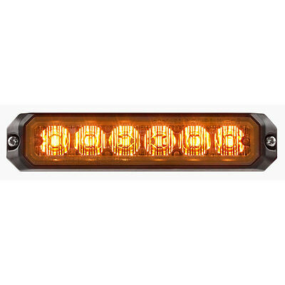 Federal signal micro pulse 6 amber new with 5 year warranty
