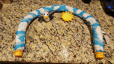 Evenflo Beach Baby Exersaucer Toy Arch Replacement Part VGC!!