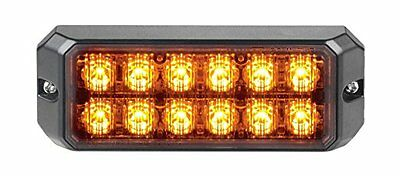 Federal signal micro pulse 1200 amber new with 5 year warranty