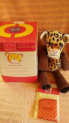 Scentsy Chika the Cheetah NIB Rare Find! Comes with Scent Pak
