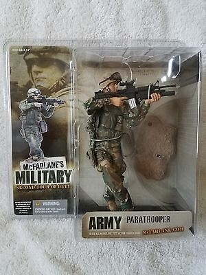 McFarlane Military 2nd Tour Army Paratrooper Caucasian Variant