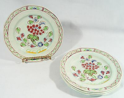4 ADAM CALYX Ware Bread / Side Plates OLD BOW England   1