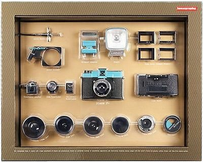 Lomo Diana F+ 35mm Film Camera Deluxe Kit w Instant back