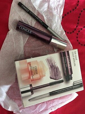 Clinique Be Cool Cool Attitude Mascara And Eyeliner Set