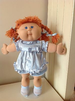 Cabbage Patch Kid - Play Along Girl - Orange Twisty Yarn Hair & CPK Outfit