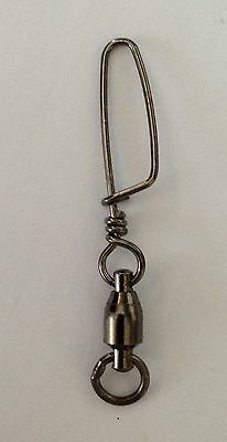 BALL BEARING SWIVELS with Solid Ring & Coastlock Snap size #5  50 Pk