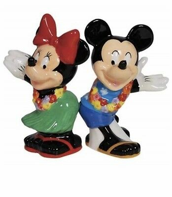 Westland Giftware Magnetic Ceramic Salt and Pepper Shaker Set Mickey and Minnie