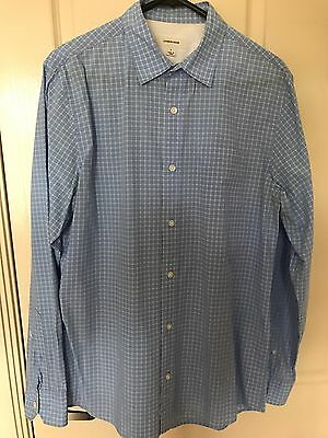 Country Road Men's Blue Checkered Shirt