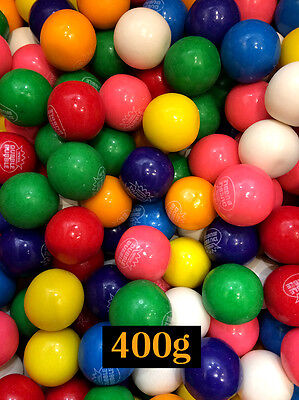 USA Dubble Bubble Assorted Bubble Gum Balls 400g - for party or refill machine
